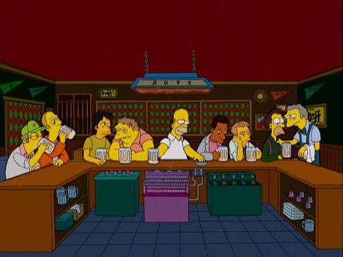 The Simpson's Last Supper